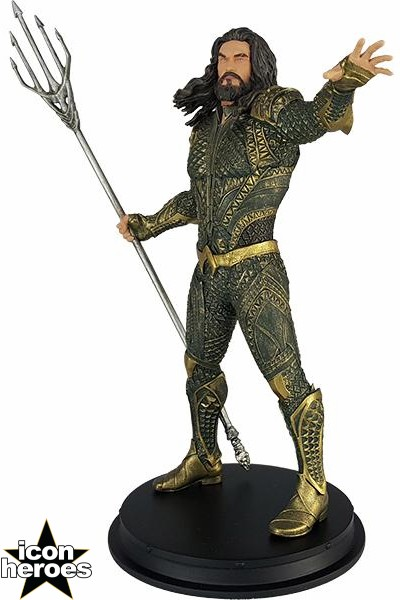 Icon Heroes DC Comics Justice League Movie Aquaman Statue